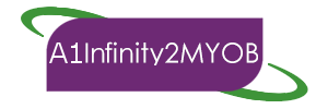 Infinity2MYOB by A1 Software